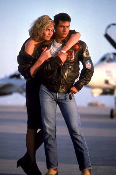 Top Gun : Photo Kelly McGillis, Tom Cruise