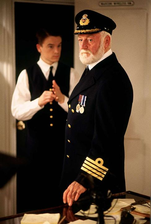 Titanic : Photo Bernard Hill