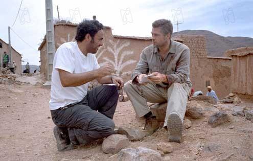 Alejandro González Inárritu et Brad Pitt
