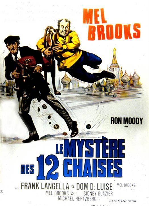 Le Mystère des douze chaises : Affiche Mel Brooks