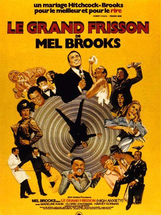 Le Grand Frisson : Affiche Mel Brooks