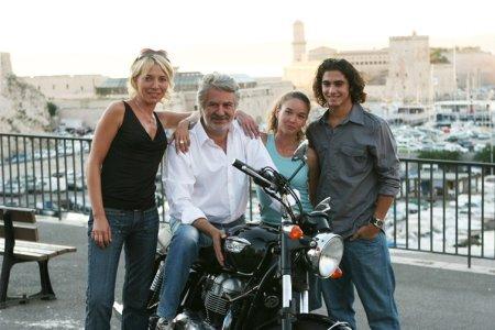 Le Tuteur : Photo Alice Chenu, Jean-Pierre Sanchez, Roland Magdane, Valérie Leboutte