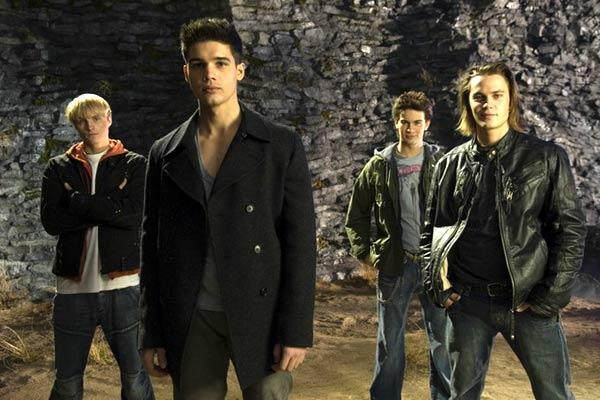 Le Pacte du sang : Photo Renny Harlin, Sebastian Stan, Steven Strait, Taylor Kitsch, Toby Hemingway