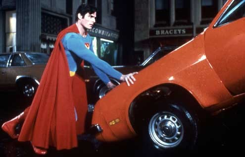 Superman IV : Photo Christopher Reeve, Sidney J. Furie