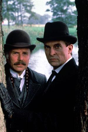 Sherlock Holmes (1984) : Photo Edward Hardwicke, Jeremy Brett