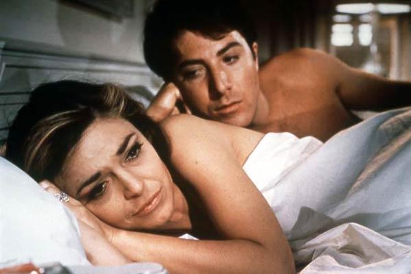 Anne Bancroft et Dustin Hoffman