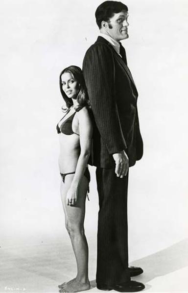 L'espion qui m'aimait : Photo Barbara Bach, Richard Kiel