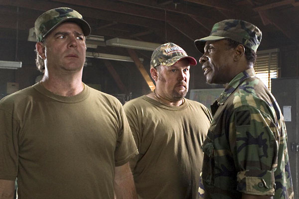Delta Farce : Photo Bill Engvall, C.B. Harding, Keith David, Larry The Cable Guy