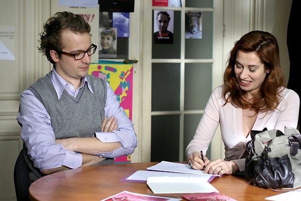 Jocelyn Quivrin et Emmanuelle Devos