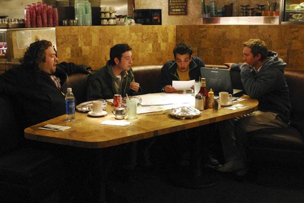 Jay Baruchel, Dan Fogler, Sam Huntington et Chris Marquette