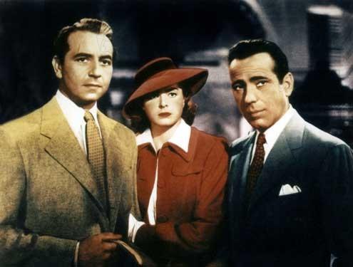 Casablanca : Photo Humphrey Bogart, Ingrid Bergman, Michael Curtiz, Paul Henreid