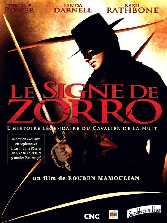 Le Signe de Zorro : Affiche Rouben Mamoulian