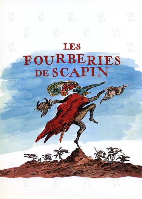 Les Fourberies de Scapin : Affiche Roger Coggio