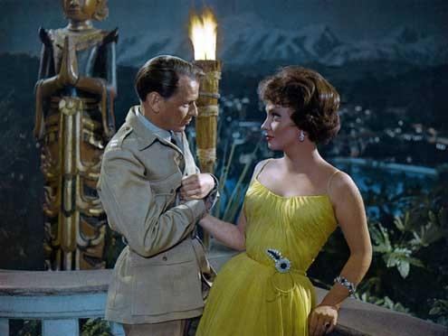 Frank Sinatra et Gina Lollobrigida