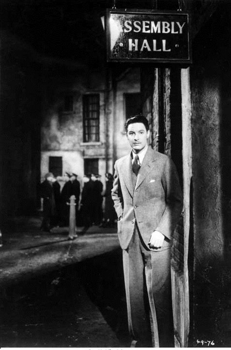 Les 39 marches : Photo Robert Donat