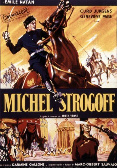 Michel Strogoff : Affiche Carmine Gallone, Curd Jürgens