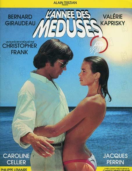 L'année des méduses: Bernard Giraudeau, Christopher Frank