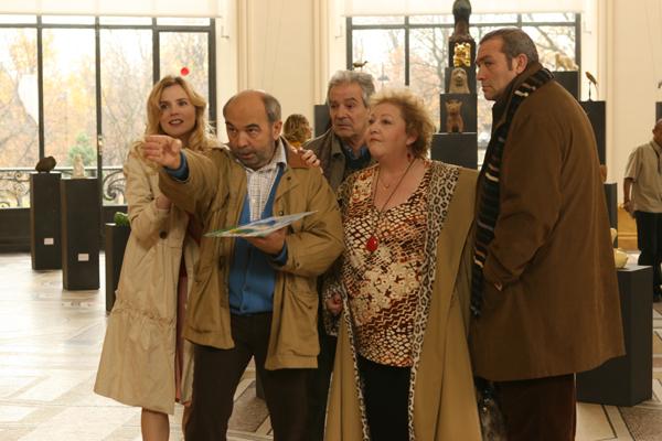 Gérard Jugnot, Isabelle Carré, Pierre Arditi, Chantal Neuwirth et Laurent Gamelon