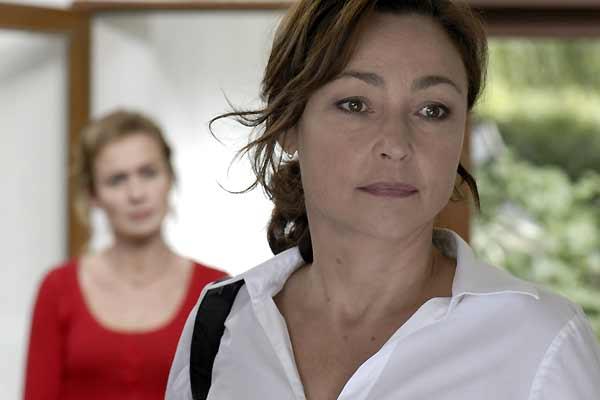 Catherine Frot et Sandrine Bonnaire (au second plan)
