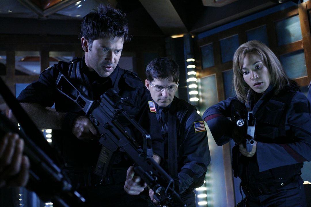 Stargate: Atlantis : Photo Joe Flanigan, Rachel Luttrell