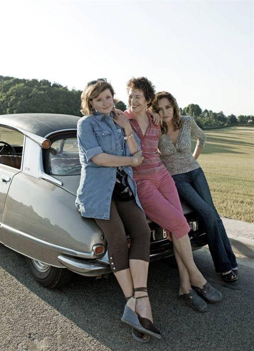Thelma, Louise et Chantal : Photo Caroline Cellier, Catherine Jacob, Jane Birkin