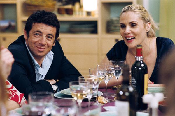 Patrick Bruel et Emmanuelle Seigner