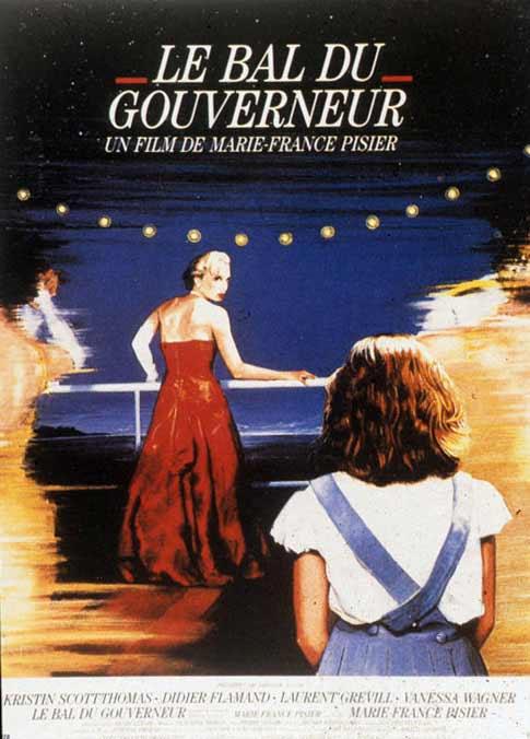 Le Bal du gouverneur : Affiche Marie-France Pisier