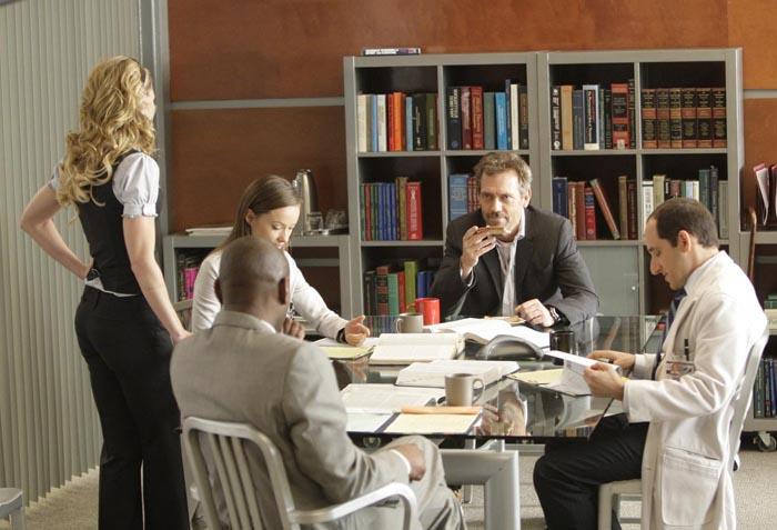 Dr House : Photo Hugh Laurie, Jennifer Morrison, Olivia Wilde, Omar Epps, Peter Jacobson