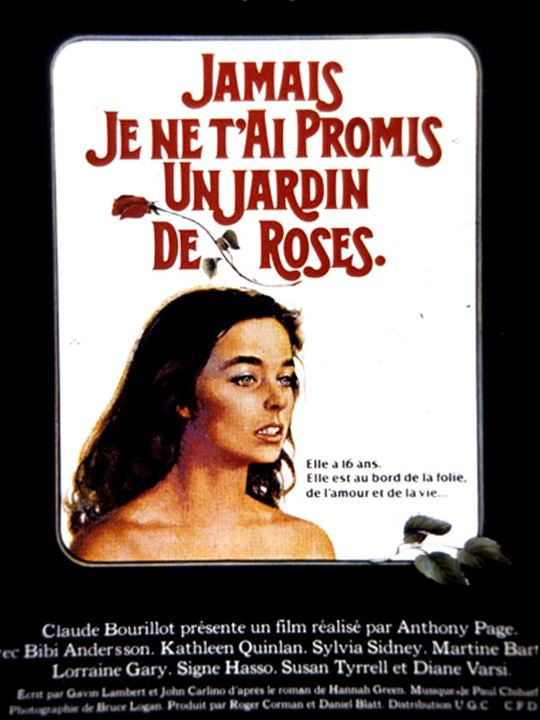 Jamais je ne t'ai promis un jardin de roses: Kathleen Quinlan