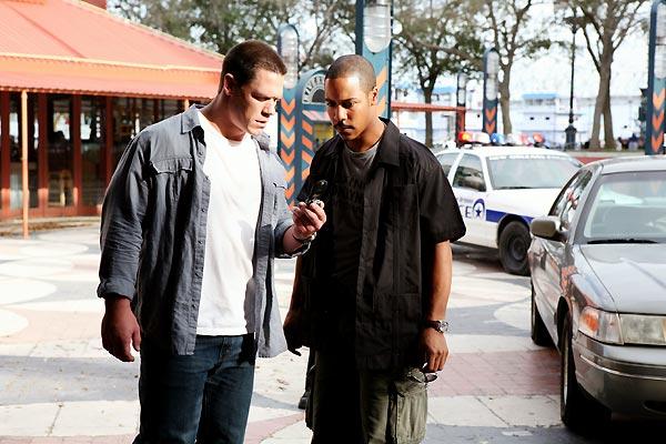 John Cena et Brian J. White