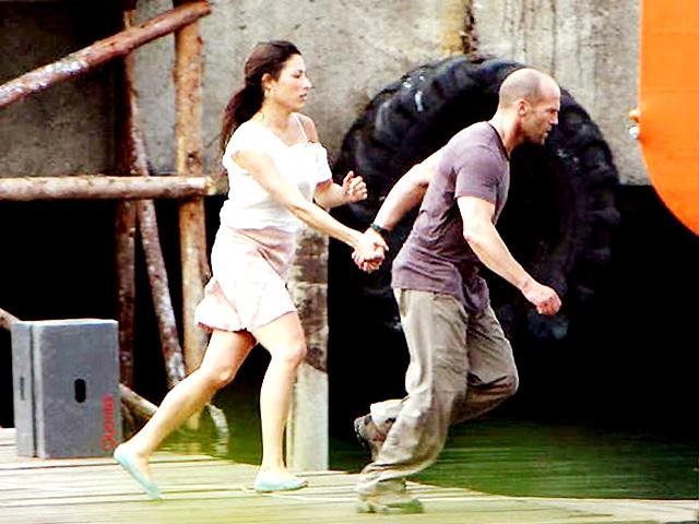Giselle Itie et Jason Statham