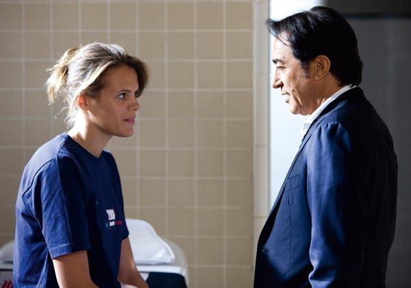 Le Coach : Photo Laure Manaudou, Richard Berry