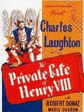 La Vie privée d'Henry VIII : Affiche