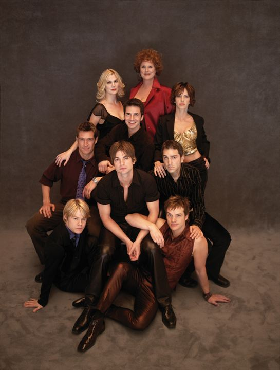 Queer as Folk (US) : Photo Gale Harold, Hal Sparks, Michelle Clunie, Peter Paige, Randy Harrison