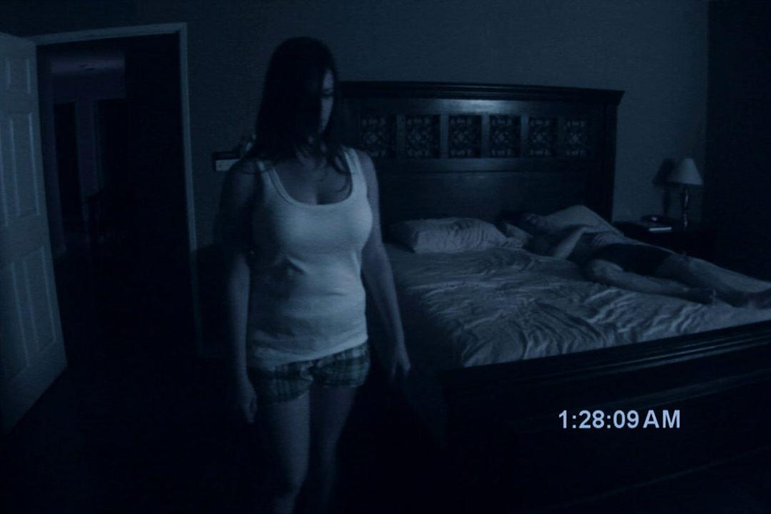Paranormal Activity : Photo Katie Featherston, Micah Sloat, Oren Peli