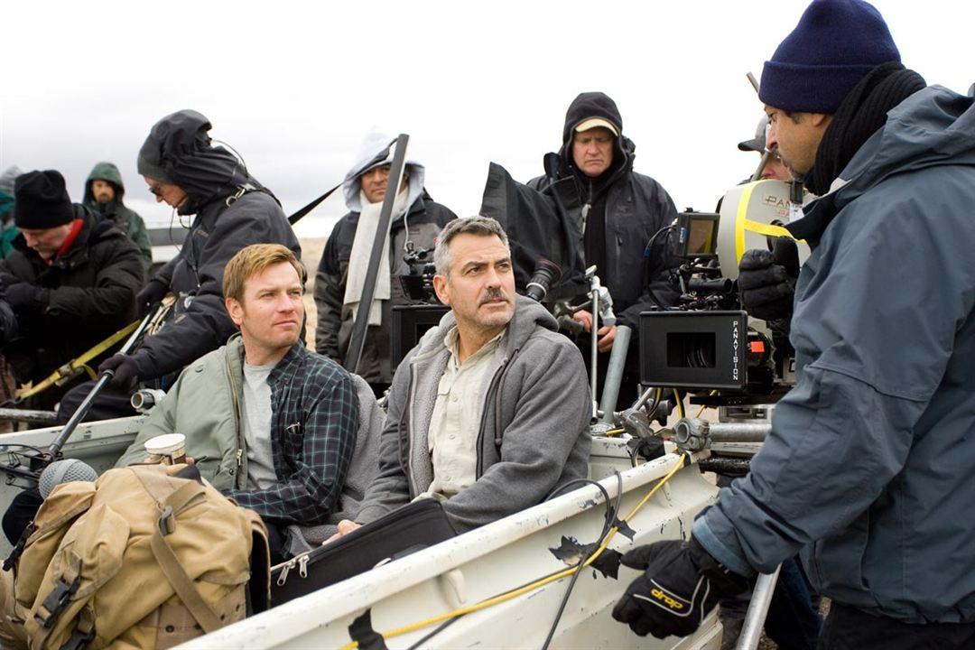 Grant Heslov, George Clooney et Ewan McGregor