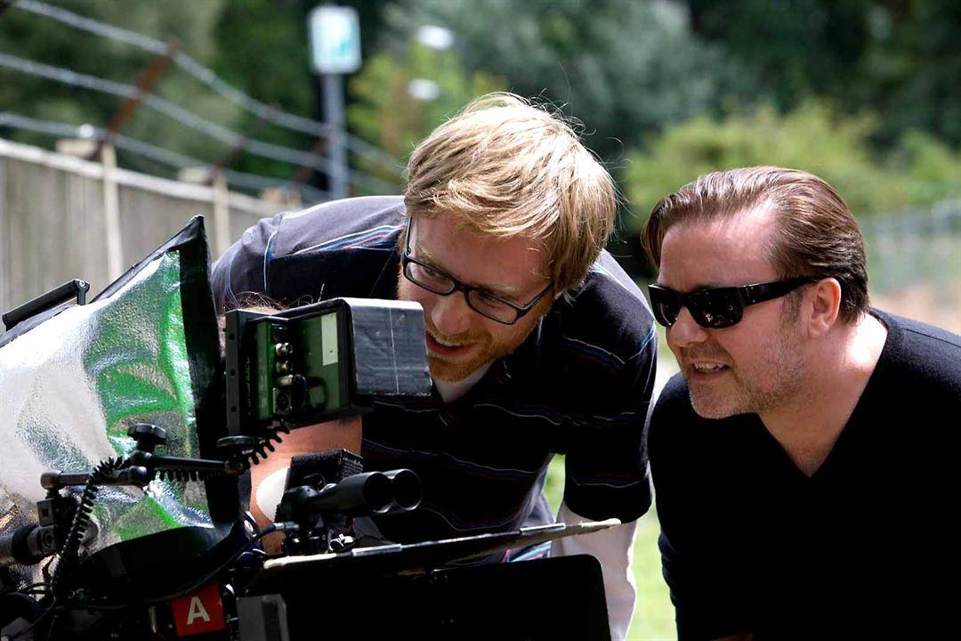 Stephen Merchant et Ricky Gervais