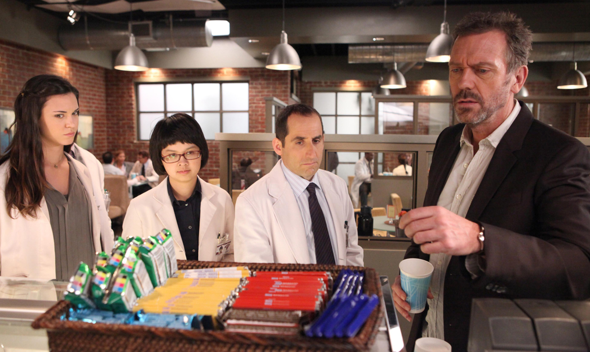 Photo Charlyne Yi, Hugh Laurie, Odette Annable, Peter Jacobson