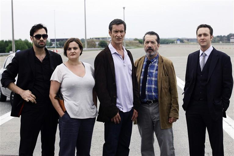 Photo Benjamin Boyer, François Levantal, Jacques Bondoux, Tatiana Gousseff, Xavier Gallais