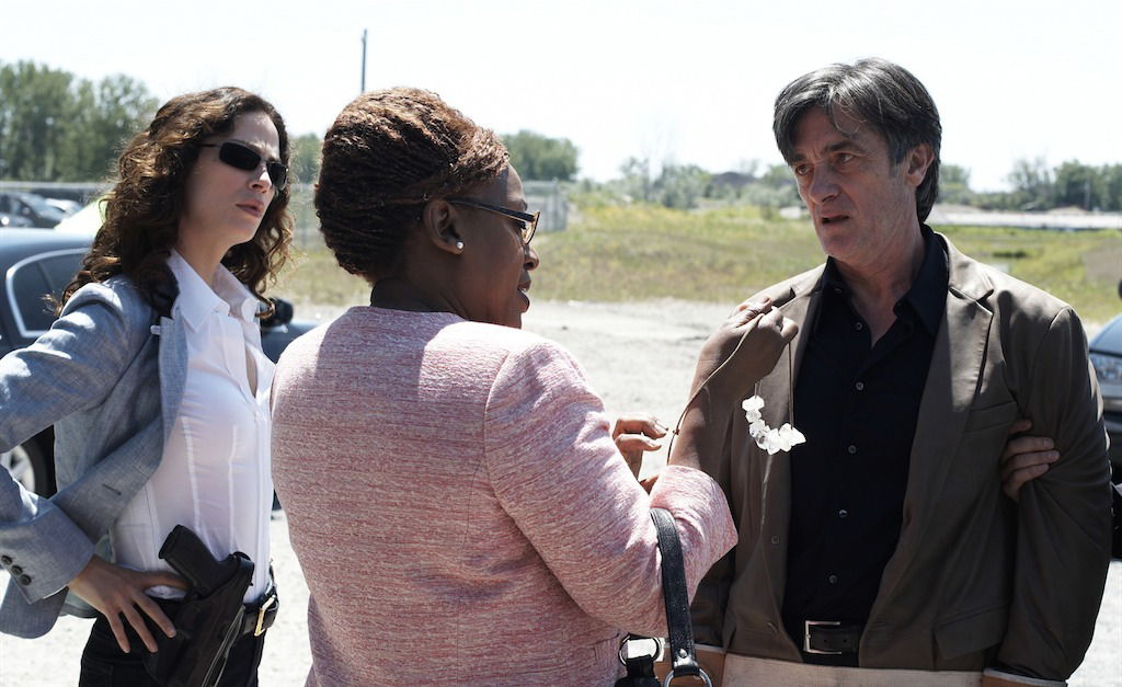 Photo CCH Pounder, Joanne Kelly, Roger Rees