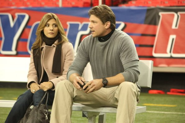 Photo Callie Thorne, Marc Blucas