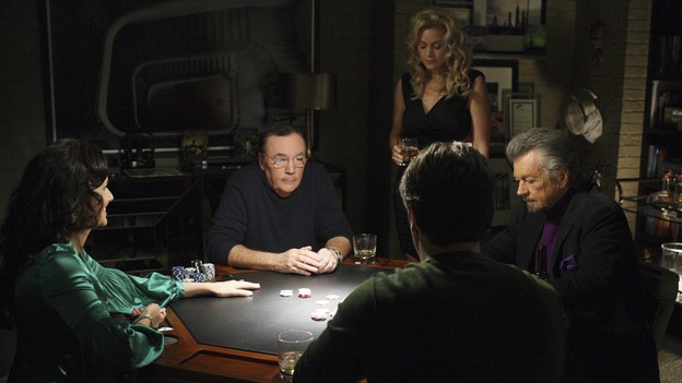 Castle : Photo James Patterson, Michael Connelly, Nathan Fillion