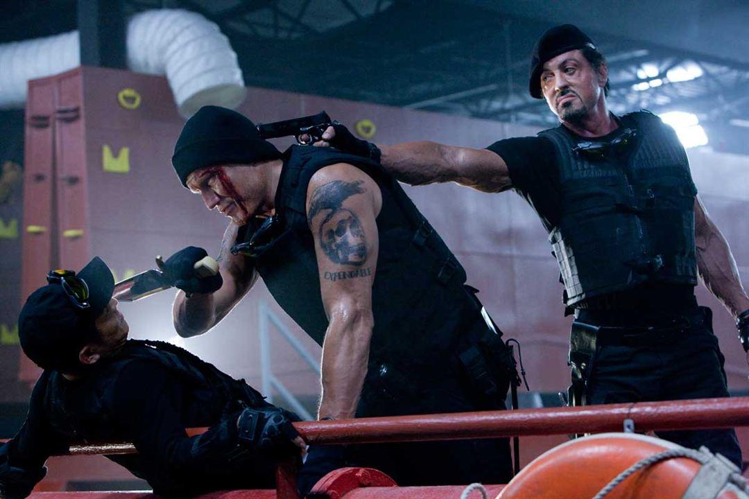 Jet Li, Dolph Lundgren et Sylvester Stallone