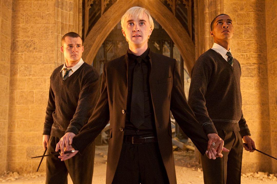 Harry Potter et les reliques de la mort - partie 2 : Photo Josh Herdman, Louis Cordice, Tom Felton