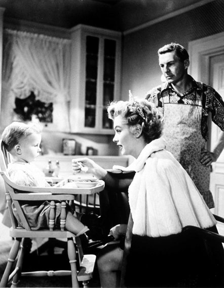 Cinq Mariages a l'essai : Photo David Wayne, Edmund Goulding, Marilyn Monroe