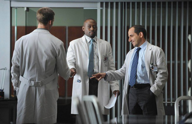 Dr House : Photo Jesse Spencer, Omar Epps, Peter Jacobson