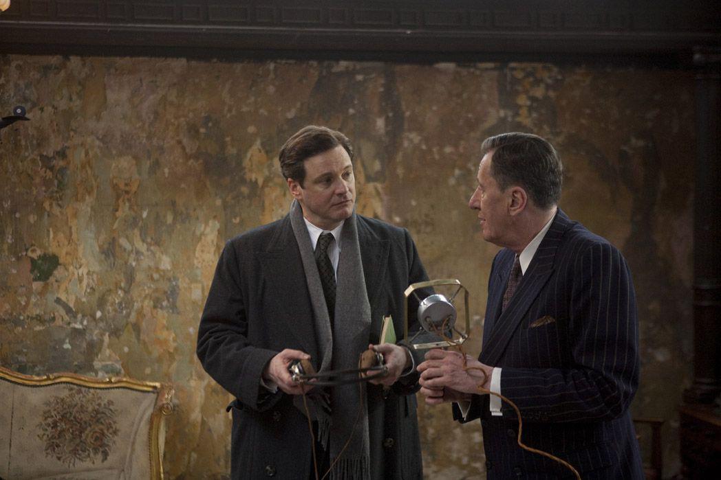 Le Discours d'un roi : Photo Colin Firth, Geoffrey Rush