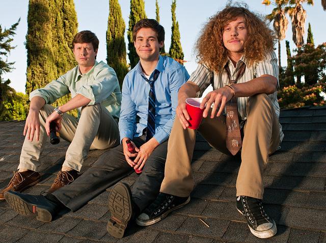 Workaholics : Photo Adam DeVine, Anders Holm, Blake Anderson