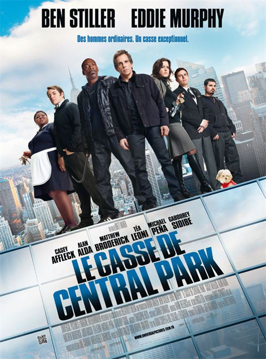 Le Casse de Central Park : Affiche
