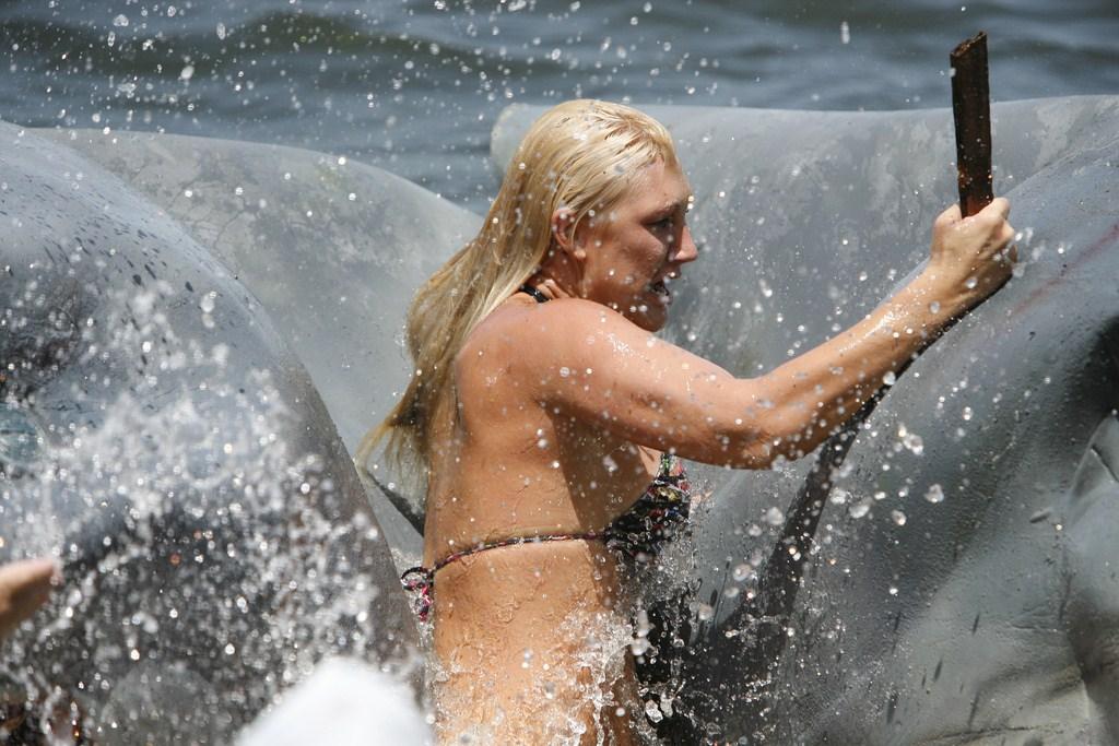 L'Attaque du requin à deux têtes : Photo Brooke Hogan